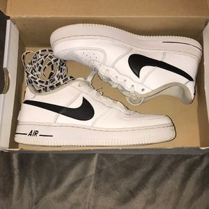 Air Force 1 low top (white/black) GS